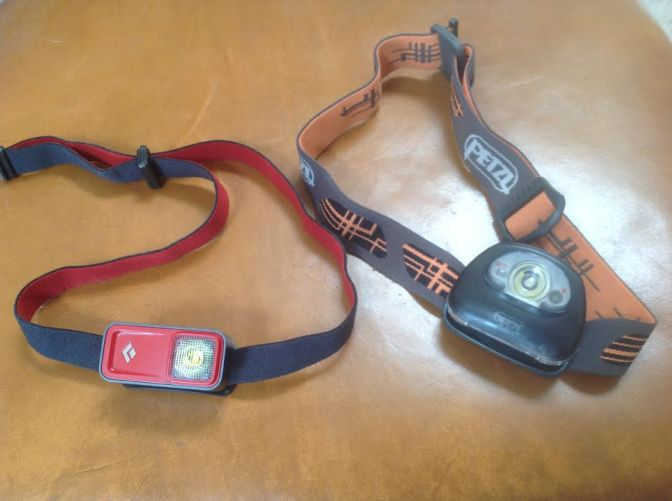 Black Diamond and Petzl